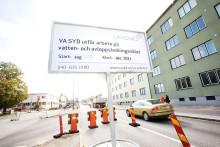 Begränsad framkomlighet på Amiralsgatan i Malmö från och med fredagen den 20 september