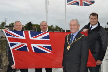 Moray Council honours Merchant Navy personnel