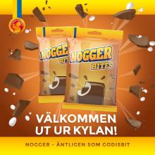Nogger - Ny njutbar nougatpralin!