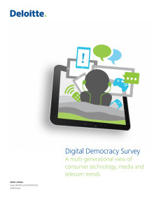 Deloitte Digital Democracy Survey - ninth edition