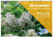 Inbjudan till Direktmöte Kalvsvik