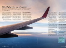 Svensk flygskam dominerar i internationella magasin i höst visar Readlys genomlysning