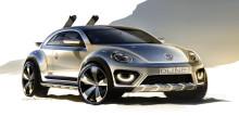 Volkswagen Beetle Dune concept brings sunshine to Detroit