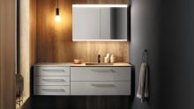 Eines für alles: Möbelprogramm sys30 für ein maßgeschneidertes Bad