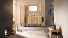 Weniger ist mehr: Die Echtholzkollektion Max von burgbad