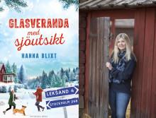 Populära författaren Hanna Blixt släpper sin första vuxenbok — en varm feelgood i ett vintrigt Dalarna