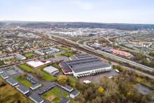 Ikano Bostad hyr ut cirka 2 900 kvadratmeter till padelhall i Mölndal
