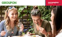 Norwegian ofrecerá descuentos en sus vuelos a los clientes que realicen compras en Groupon