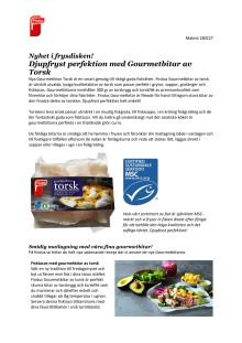 Nyhet i frysdisken! Djupfryst perfektion med Gourmetbitar av Torsk