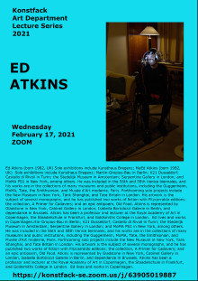 Join us and Ed Atkins!