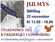 Julmys med pyssel och sånger på Kyrkberget