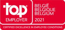 TCS voor het 8e jaar op rij uitgeroepen tot Top Employer in België