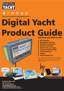 Digital Yacht at Sydney Boat Show - Booth 641 & 642