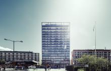 Brf Landmärket nominerad i tävlingen Sundbybergs vackraste byggnad