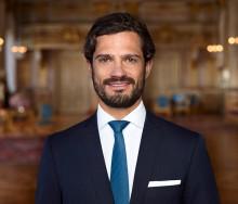 Prins Carl Philip deltar på Food Tech 2019 i Örebro