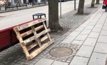 Brunnslock gav vika på cykelväg i Helsingborg