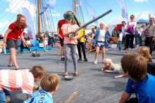 Legeskibets fjerde sommertogt slutter på Refshaleøen