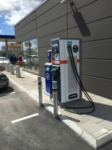 Ny snabbladdare till elbilar i Värnamo