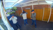 Can you help us identify these men? Doorbell footage captures attempt break in at property in Bagshot