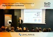 Zalaris presents at «Digital Winners» in Stockholm