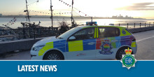 Woman saved by police officers after car goes into water at New Ferry Pier