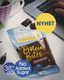 Till alla snacksälskare – Swebar lanserar Protein Bites i påse