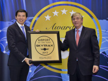 Singapore Changi Airport is named the World's Best Airport at the 2013 Skytrax World Airport Awards