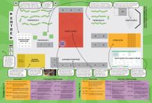 Karta över mässan och program InnoCarnival Skåne 2014