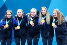 Just nu: Lag Hasselborg utsedda till OS främsta lag