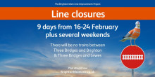 Passengers prepare for major rail closure throughout school half term