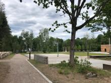 Ny park i Växjö för aktivitet och rekreation