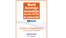 "FeelGood Kefir ""highly commended"" at Beverage Innovation award show"