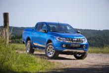 Der neue Mitsubishi Pick-up L200 – robuster Arbeiter mit Stil und Komfort