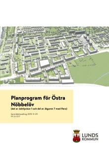 Planprogram för Nöbbelöv, Jaktlyckan 1 och Jägaren 7
