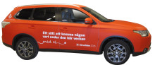Mitsubishi och Dagens Industri - grönt samarbete i Almedalen