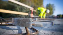 Svevia bygger bro över Åbäcken i Njurunda