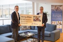 Stena Lines kunder har donerat 61 807 välgörande koppar