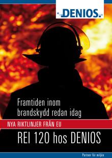 DENIOS Miljöcontainer uppfyller nya EU-direktiv för kemikalier vid brand.