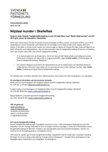Nöjdast kunder i Skellefteå