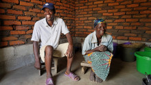Red Cross and DSV supported families after Malawi flooding