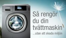 Rengör tvättmaskinen med 5 enkla knep