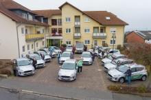 Neuer Fuhrpark für ambulanten Pflegedienst der Hephata-Tochtergesellschaft hsde