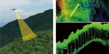 産業用無人ヘリによる森林状況調査の実証実験について