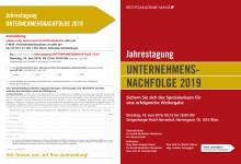 Jahrestagung Unternehmensnachfolge 2019