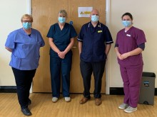 Northumbria staff on frontline supporting the Covid vaccination roll-out