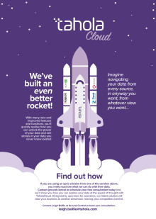 We've built an even better rocket.....
