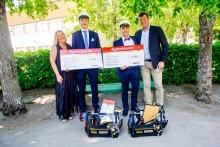 Elever vid Järfälla gymnasium belönade med Bygmastipendiet