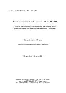 UPDATE 9 Oktober 2020 // Information zum Insolvenzantrag von Thomas Cook GmbH