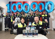 AkzoNobel celebrates milestone production target as Ashington site turns two