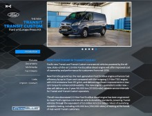 Ford @ The Commercial Vehicle Show in Birmingham